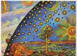Grabado Flammarion