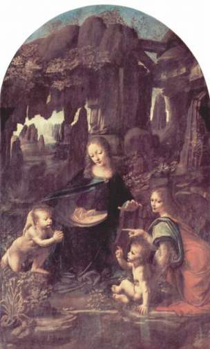La Virgen de las Rocas