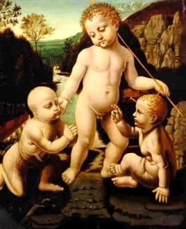 Los tres niños santos