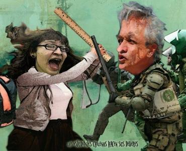 Protestas de estudiantiles en Chile