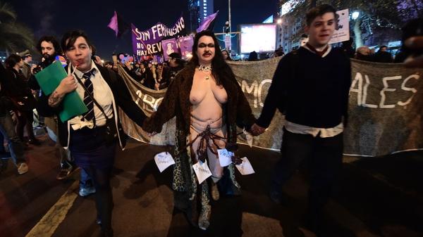 Marcha por el aborto, 2014